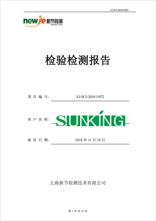 某印刷废气处理项目检测报告