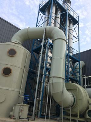 滁州XX废气处理项目